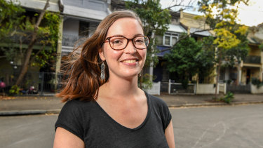 Labor's candidate for Balmain, 30-year-old Elly Howse.