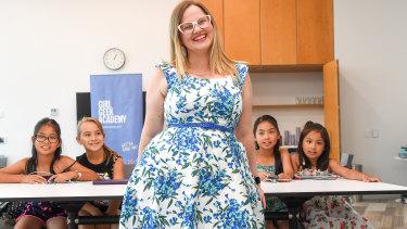 Girl Geek Academy chief executive Sarah Moran.