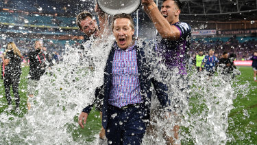 Craig Bellamy has signed a five-year deal to stay at the Storm.