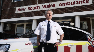 Chief executive of NSW Ambulance Dominic Morgan has outlined a suite of measures designed to overhaul support services for paramedics.