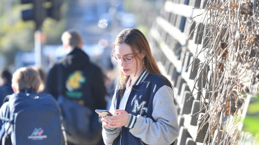 Year 12 Mooroolbark College student Beth Shegog is opposed to the ban