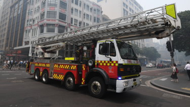 Almost 500 buildings in Sydney are on the fire service's list for an upgraded response.
