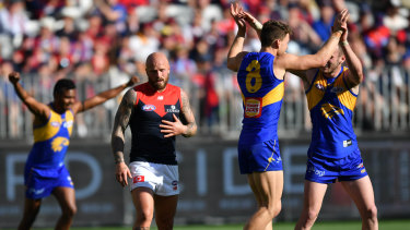 West Coast resume hostilities against Melbourne on Friday night at Optus Stadium after ending the Demons' 2018 season there.