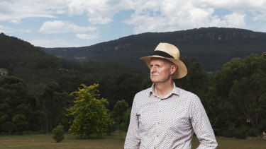 Matt Gray is concerned about Kangaroo Valley's fire management plans.