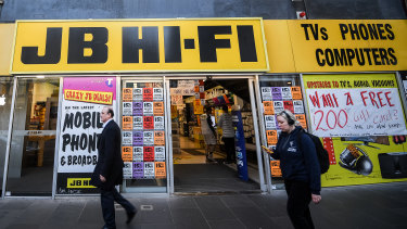 JB Hi-Fi's results this week are worth highlighting.