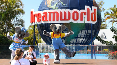 A COVID-positive person visited Dreamworld last week.
