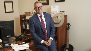 """Joel Fitzgibbon says Labor has """"a diverse range of membership, and we must speak to them all""""."""