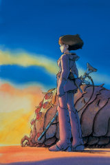 Nausicaa of the Valley of the Wind.
