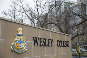 Some students from Wesley College boycotted the uniform in protest at handling of allegations of misogyny.