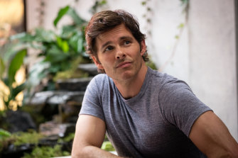 James Marsden as Stu Redman in Stephen King's miniseries The Stand, streaming locally on Stan.