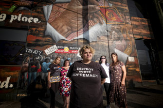 Warriors of the Aboriginal Resistance are organising the protest.