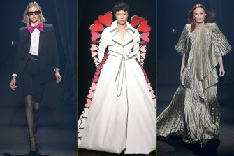 Fashion's moving tribute to Alber Elbaz. Anthony Vaccarello for Saint Laurent, Viktor & Rolf and Stella McCartney sent out designs inspired by the man who revived Lanvin.
