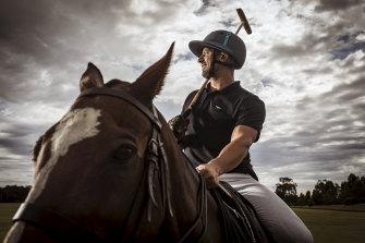 Tolga Kumova ahead of hosting the Daylesford Polo in 2019.