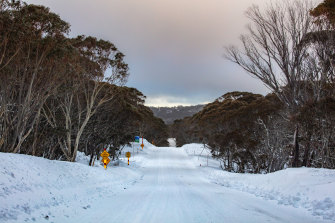 Snow at Mount Hotham could become less common if climate change continues, a government report showed.