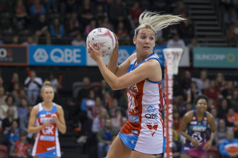 Natalie Haythornthwaite is set to rejoin the Swifts after moving back to England during the COVID-19 shutdown.