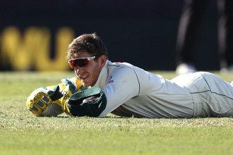 Tim Paine put down three chances in Sydney.
