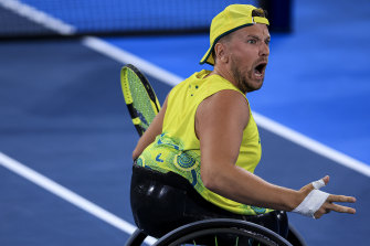 Dylan Alcott has another chance to win gold.