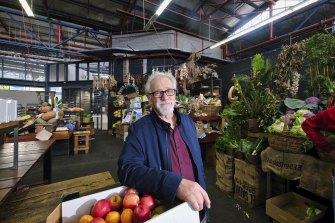 Neil Mitchell at Prahran Market this week.