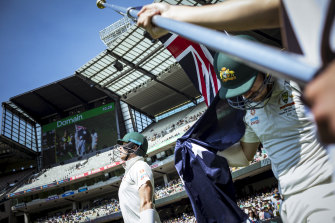 Last year's Boxing Day Test at the MCG.