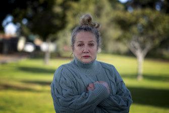 Maxie Antoniou, the mother of slain Melbourne woman Courtney Herron.