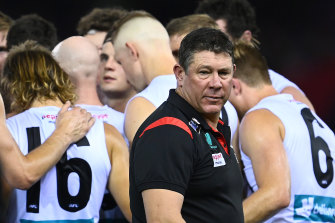 Saints coach Brett Ratten said the loss to Geelong was disappointing.