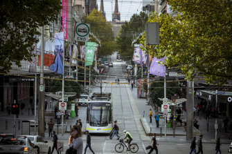 Melbourne council is eager to get shoppers back into the city.