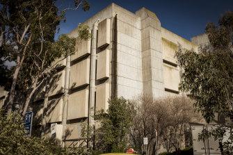 The building is a Footscray landmark.
