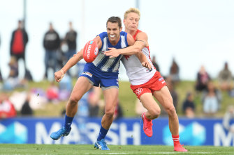 North Melbourne hosted a pre-season match in Hobart this year and have played games in Tasmania since 2012.