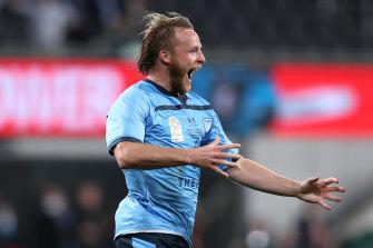 Rhyan Grant told Sydney FC coach Steve Corica he felt a rare goal was on the cards in Sunday's A-League grand final.