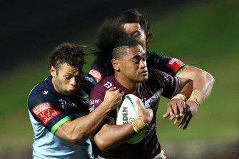 A Moses Suli falcon handed the Raiders a try in the second half.