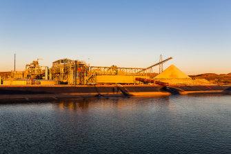 The Pilbara Minerals Pilgangoora Lithium mine