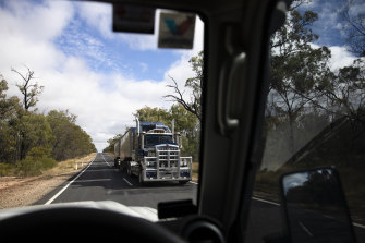 Under new rules, all truck drivers entering the state must have received their first vaccine dose by October 15.