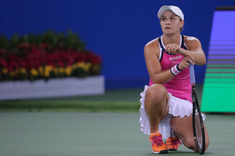 Ashleigh Barty's quest to end the week at world No.1 is still alive.