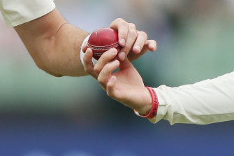 Cricketers may have to change on-field habits as the game comes out of the coronavirus shutdown.