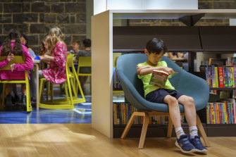 The new Pauline Gandel Children's Quarter at the State Library.