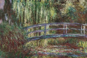 Claude Monet The water lily pond 1900