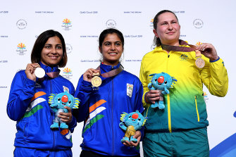 Elena Galiabovitch won bronze in the 10m Air Pistol at the 2018 Commonwealth Games, and a silver in the 25m pistol event.