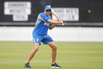 Michael Hussey has tested positive to the coronavirus while in India.