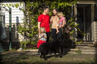 Andrew Corponi and Brydie Phillips are preparing to move their family to Leongatha.