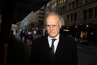 Former High Court justice Dyson Heydon has denied the allegations.