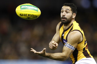 Paul Puopolo is set to play on for the Hawks in 2020.