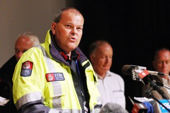 NSW Fire and Rescue Commissioner Paul Baxter was working as a senior commander in the New Zealand Fire Service during the Christchurch earthquake in 2011.
