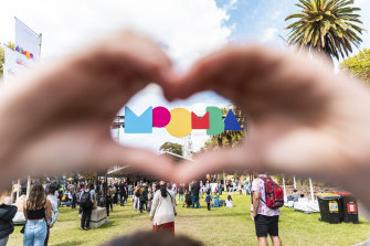 The rebooted Moomba Festival is celebrating love for Melbourne.