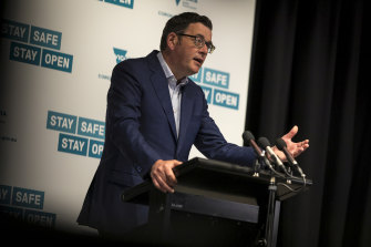 Premier Daniel Andrews thanked Victorians for their efforts to contain the spread of COVID-19.