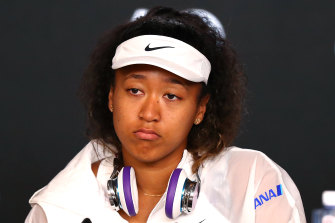 Naomi Osaka was bundled out of the Australian Open in the third round.