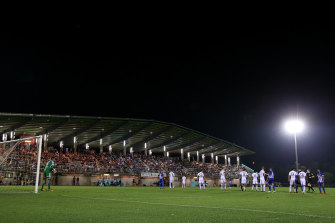 Hellenic took the Western Sydney Wanderers to the wire in the FFA Cup two years ago.