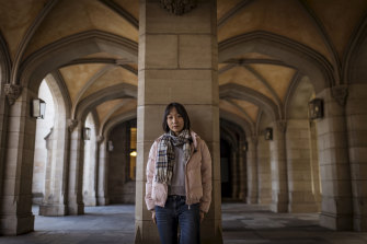 University of Melbourne international student Manjun Jiang is studying at Melbourne because of its high rankings.