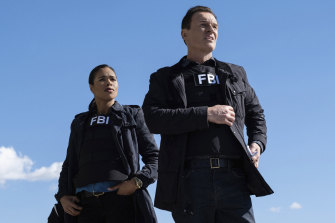 FBI: Most Wanted is built around Julian McMahon's team leader, Jess LaCroix (right).