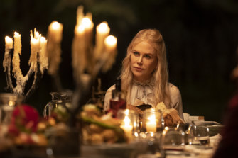 Nicole Kidman as Masha in Nine Perfect Strangers.