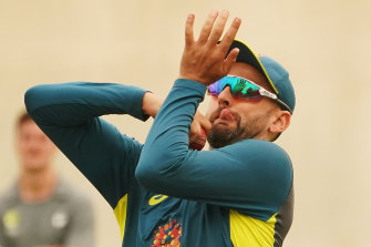 Nathan Lyon is primed for his first BBL match of the season.